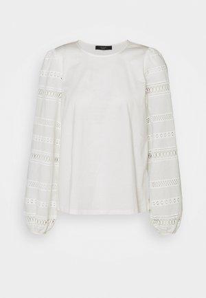 GIOTTO - Top sdlouhým rukávem - white