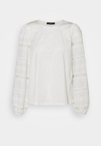 GIOTTO - Long sleeved top - white