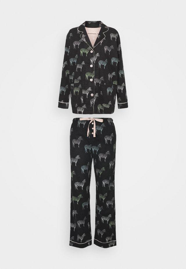 Pyjama set - schwarz