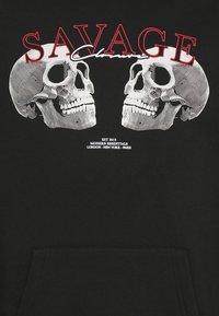CLOSURE London - SAVAGE DEATH HOODY - Sweatshirt - black - 5