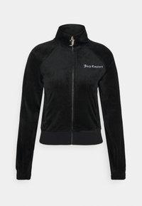 Juicy Couture - FRANKIE - Zip-up hoodie - black - 0