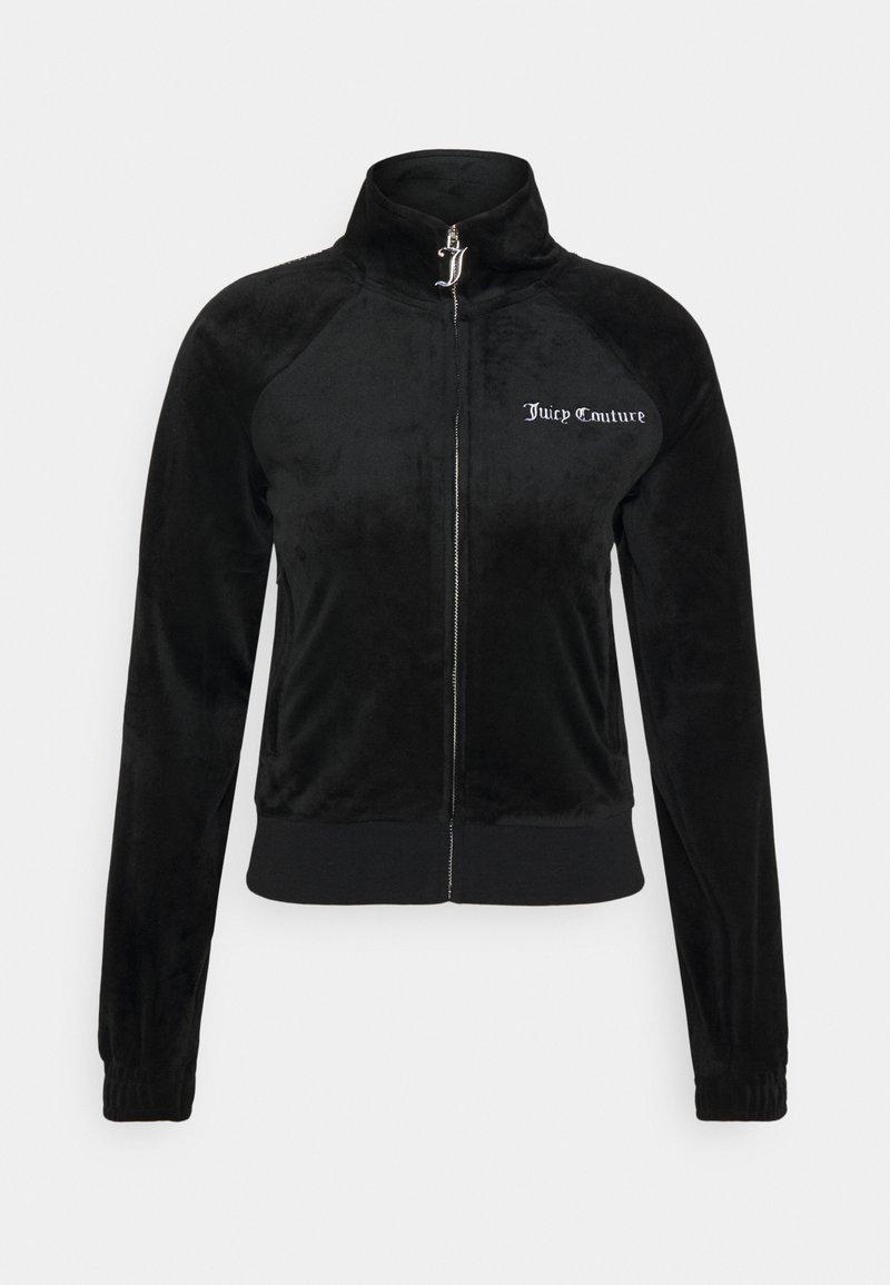 Juicy Couture - FRANKIE - Zip-up hoodie - black