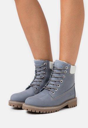 Snørestøvletter - blue
