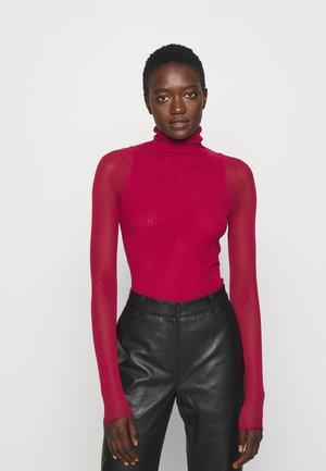 VELES - Long sleeved top - peony pink