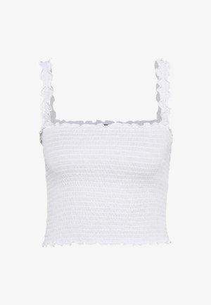 NMLEA SMOCK STRAP   - Toppe - bright white