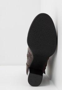 Anna Field - High heeled ankle boots - dark brown - 6