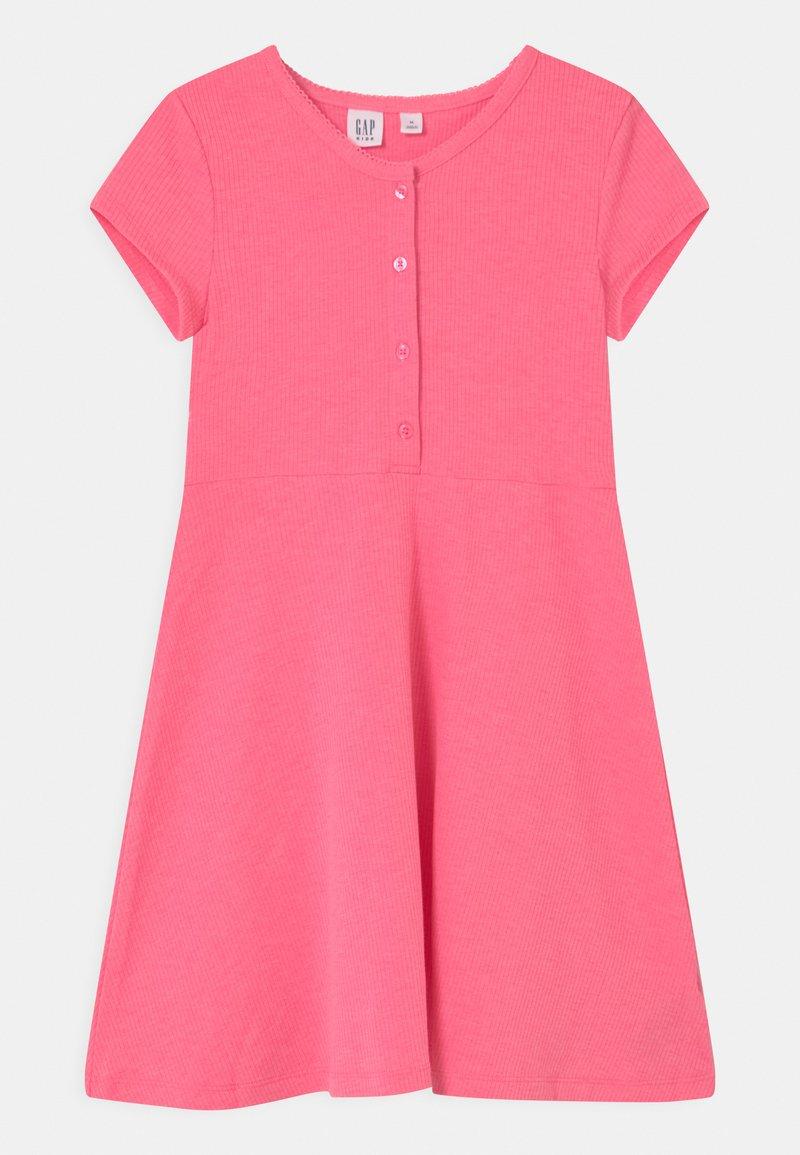 GAP - GIRL  - Jersey dress - neon pink rose