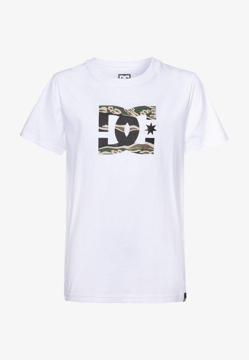 DC Shoes - STAR BOY - T-shirt print - snow white