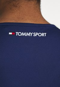 Tommy Sport - TRAINING TANK LOGO - Sportshirt - blue - 5