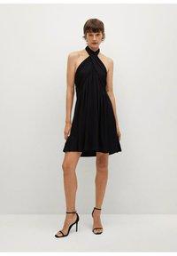 Mango - Vestito elegante - black - 1