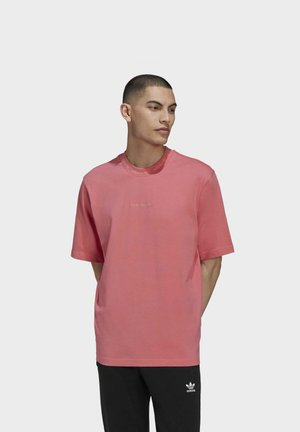 RIB DETAIL  - T-shirt basic - pink