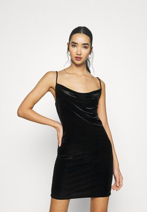 CAMI STRAP MINI - Cocktail dress / Party dress - black