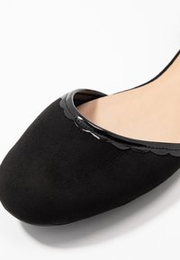 Anna Field - Ankle strap ballet pumps - black - 2