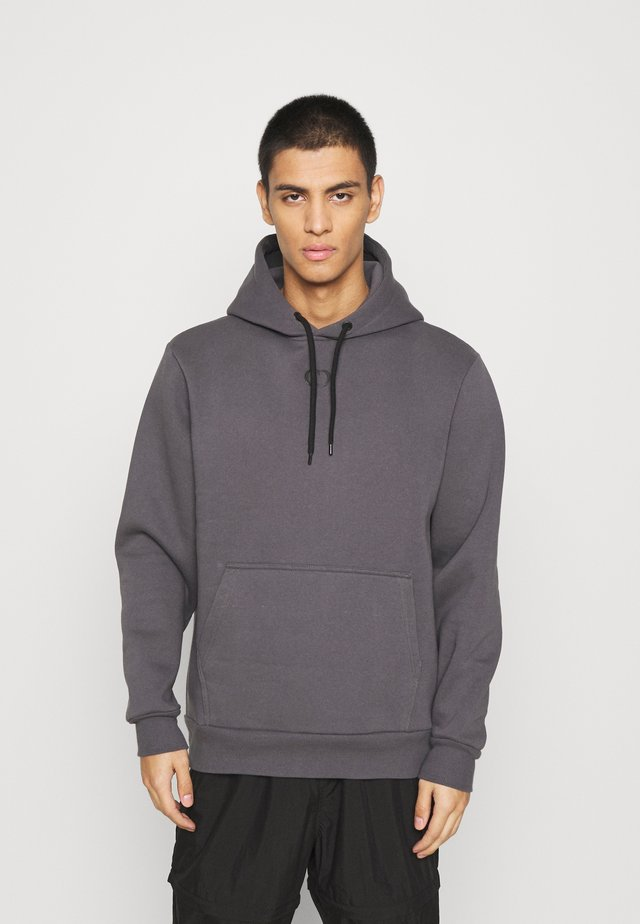 ESSENTIAL HOOD - Sweater - charcoal