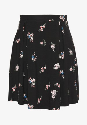 A-line skirt - multicoloured/black