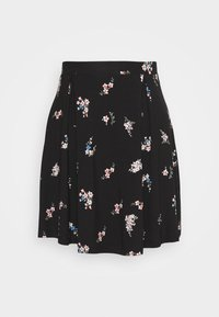 A-line skirt - multicoloured/black