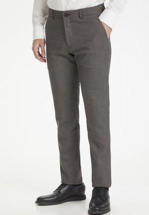 MAPRISTU - Trousers - dark brown