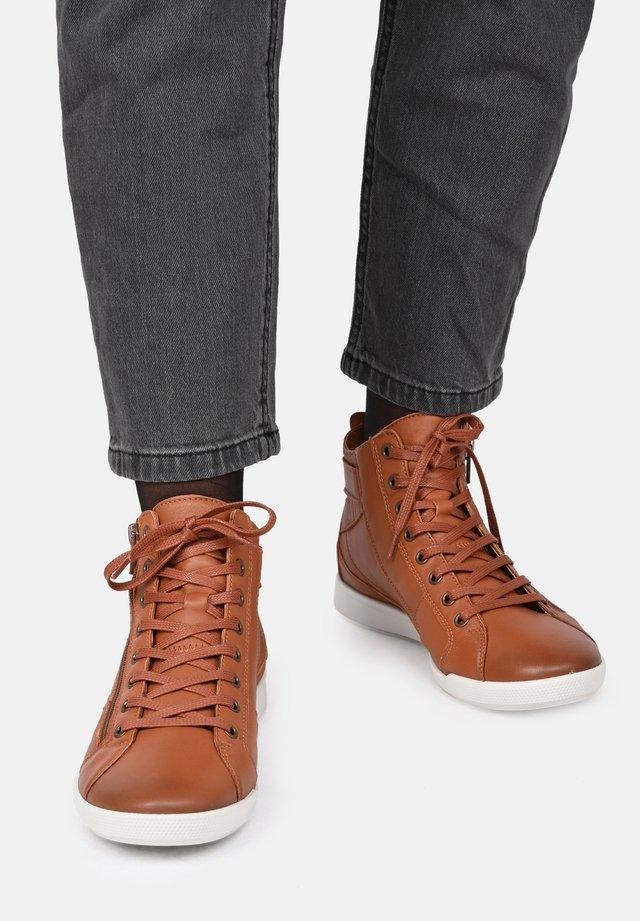 PALME - Sneakers hoog - camel