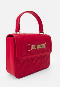 Love Moschino - TOP HANDLE QUILTED CROSS BODY - Handbag - rosso - 4