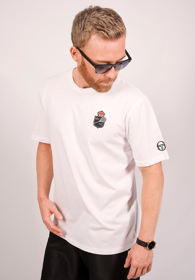 FREDONIA/MC/MCH - T-shirt imprimé - white/navy