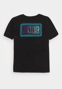 Quiksilver - MIDNIGHT SHOW YOUTH - Print T-shirt - black - 1