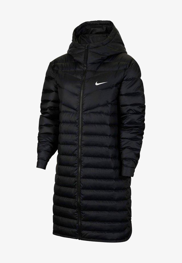 Down coat - black (schwarz_schwarz_farbkachel)