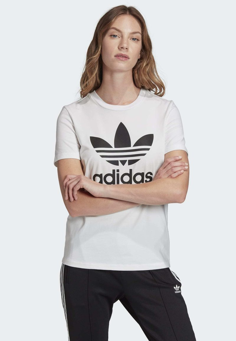 adidas Originals - Camiseta estampada - white