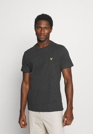 PLAIN - Basic T-shirt - charcoal marl