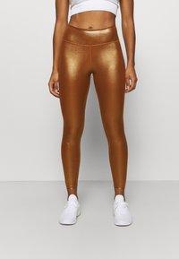 Nike Performance - ONE - Medias - gold/tawny/gold - 0
