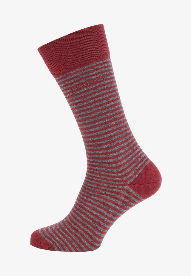 Socks - dark red