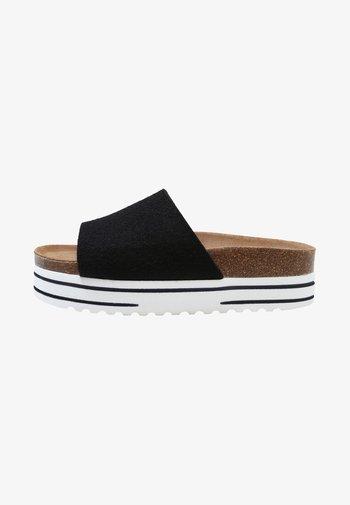 AYLINE - Pantofle - black