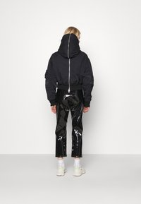 Weekday - REEVES JACKET - Light jacket - black solid - 2
