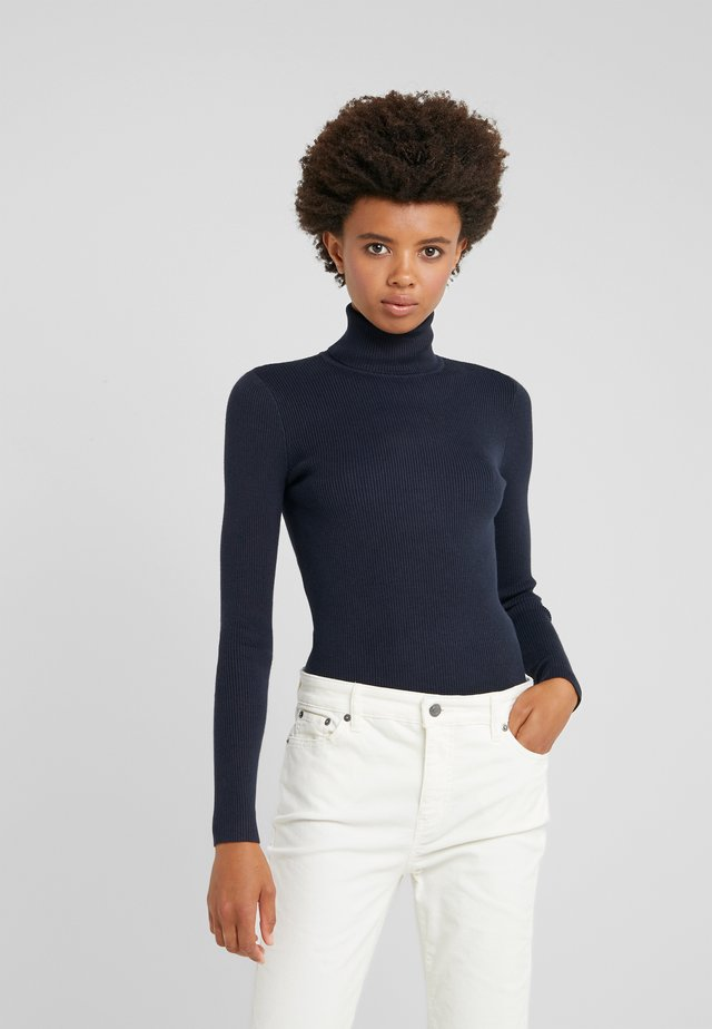 TURTLE NECK - Trui - navy