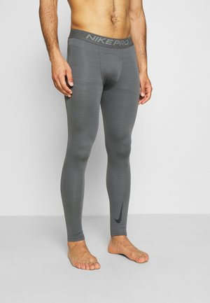 WARM - Legging - iron grey/black