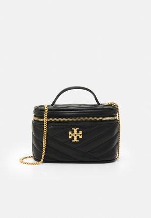 KIRA CHEVRON MINI VANITY CASE - Wash bag - black