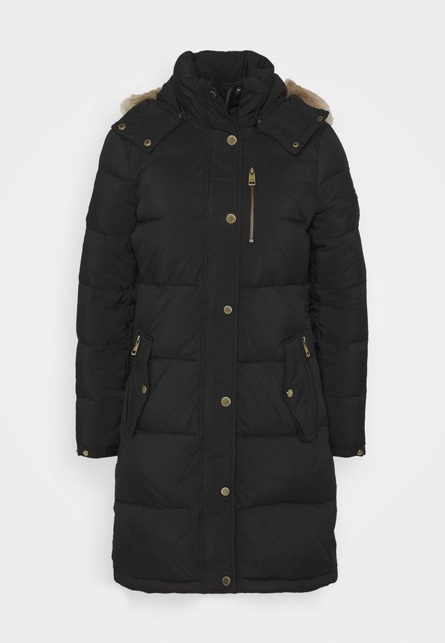 HEAVY PUFFER - Down coat - black