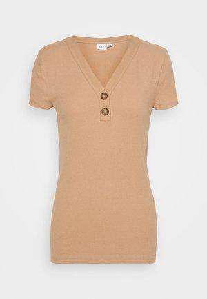 T-shirt basique - desert tan