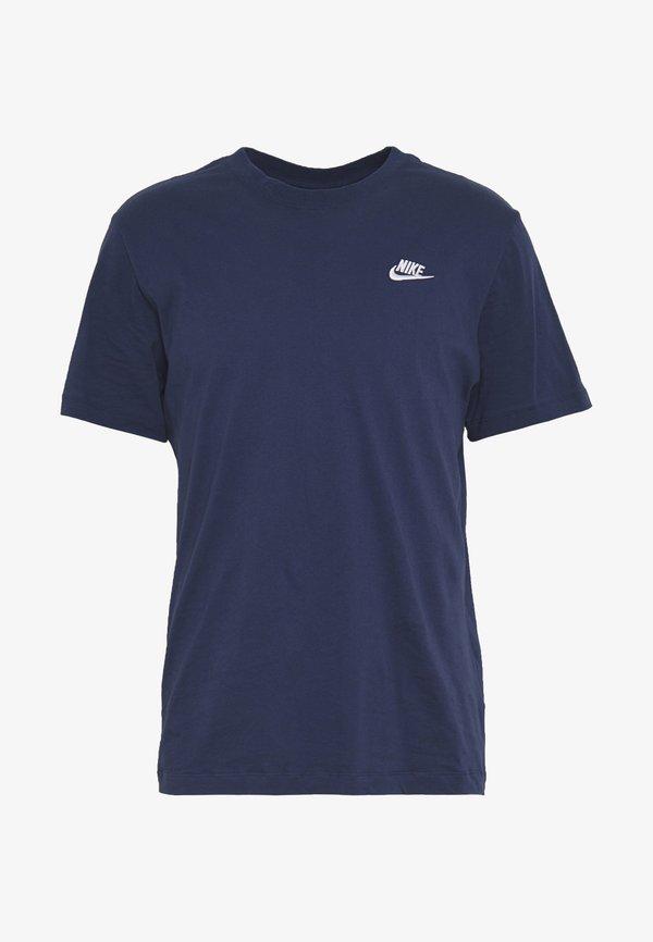 Nike Sportswear CLUB TEE - T-shirt basic - midnight navy/white/granatowy Odzież Męska KQLH