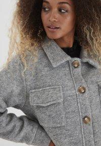 b.young - Summer jacket - light grey melange - 3