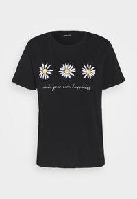 Even&Odd - T-shirt print - black - 3