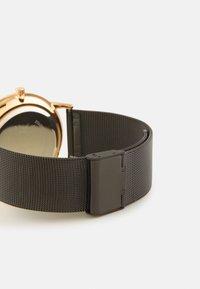 Pier One - UNISEX - Hodinky - black/rose gold-coloured - 1