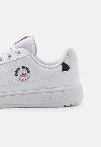 adidas Originals - NY 90 UNISEX - Sneakersy niskie - footwear white - 5