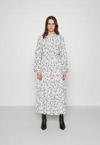 Replay - DRESS - Maxi dress - natural white/rose/green - 0
