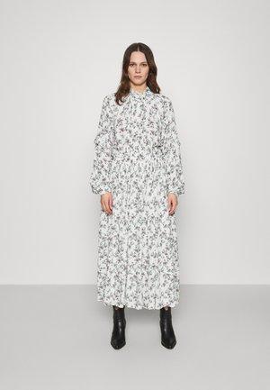 DRESS - Vestito lungo - natural white/rose/green