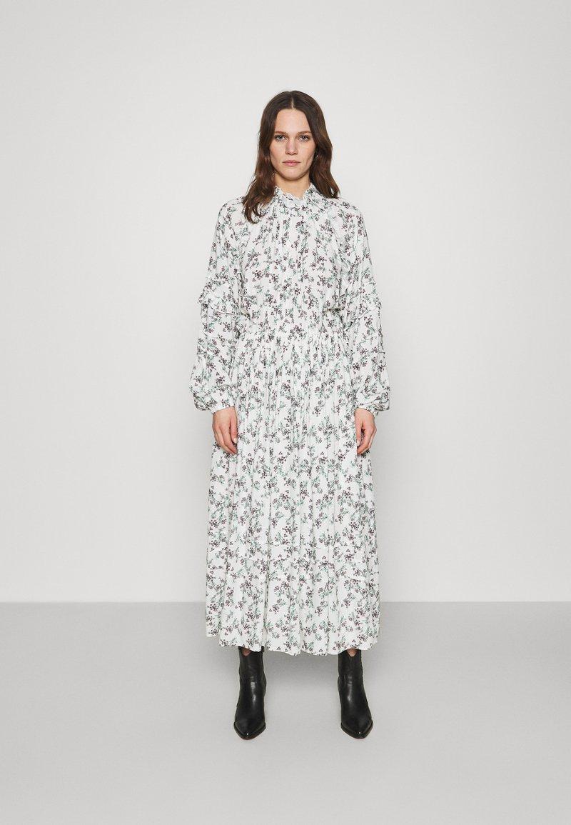 Replay - DRESS - Maxi dress - natural white/rose/green
