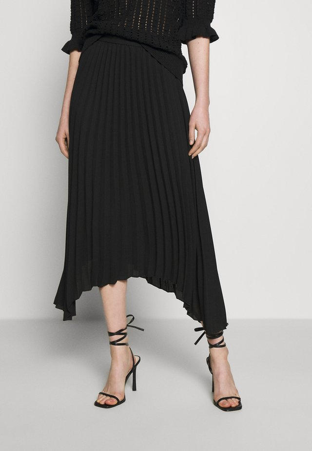 SKIRT MELANIE - Maxi skirt - black