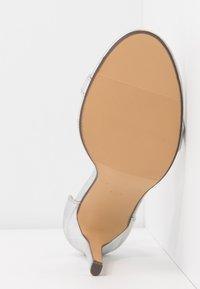 4th & Reckless - JASMINE - High heeled sandals - silver - 6