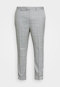 Topman - LUTHER - Suit trousers - grey - 3