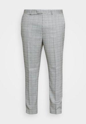 LUTHER - Kostymbyxor - grey
