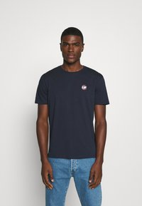 YOURTURN - UNISEX - T-shirt med print - dark blue - 0